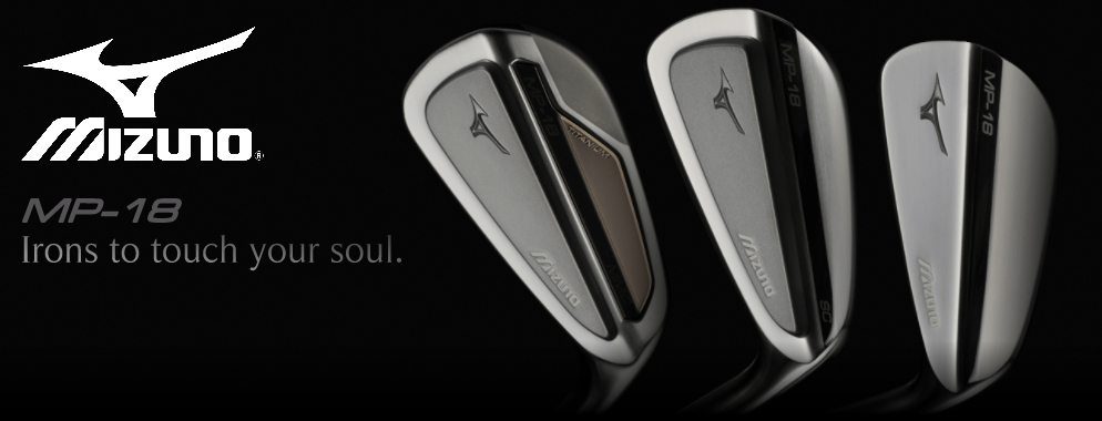 New Mizuno MP-18 - Irons to touch your soul