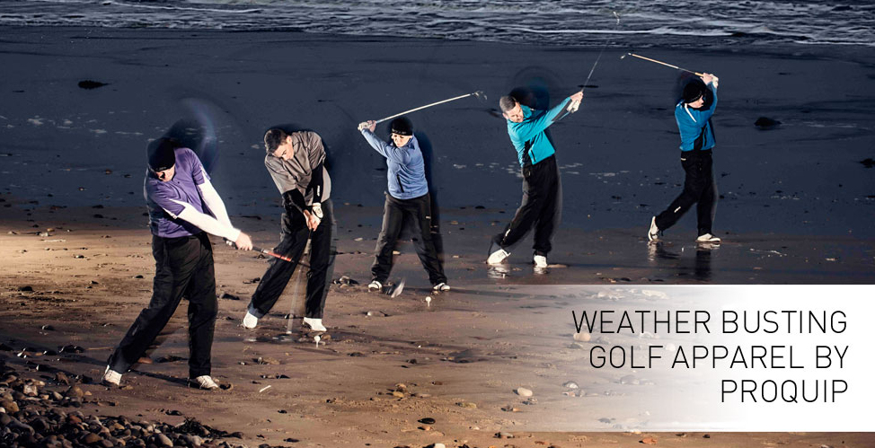 ProQuip Weather Busing Golf Clothing