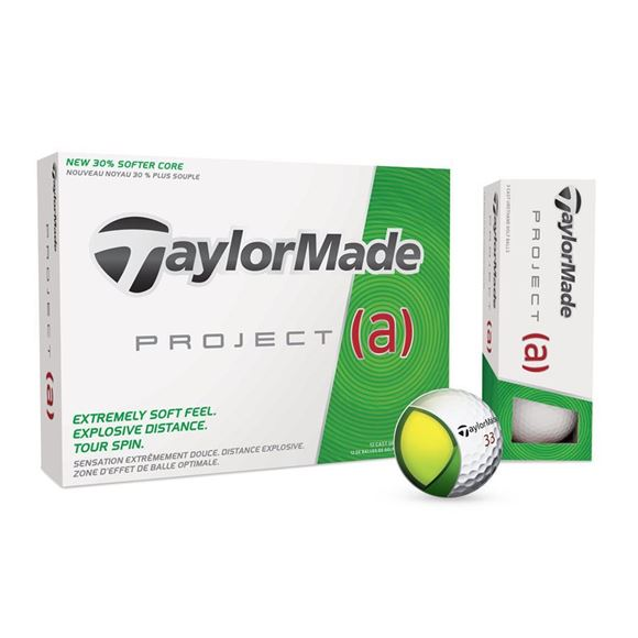 Picture of TaylorMade Project (a) Golf Balls (Yellow)
