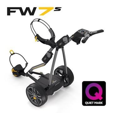 Picture of Powakaddy FW7s Electric Trolley -  and FREE Accessory