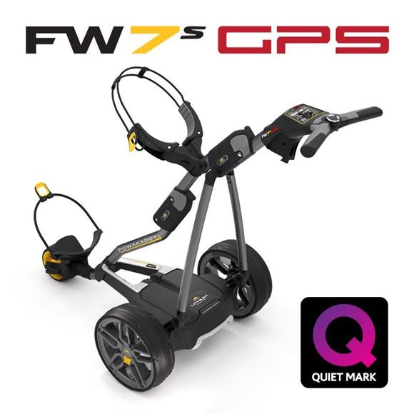 Picture of Powakaddy FW7s GPS Electric Trolley - and FREE Accessory