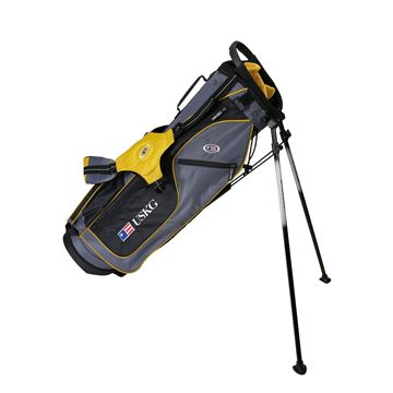 Picture of US Kids Junior UL63 Stand Bag WT-10u, 32 Inch, Grey/Gold Bag