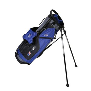 Picture of US Kids Junior UL60 Stand Bag WT-10u, 30.5 Inch, Blue/Black/Grey
