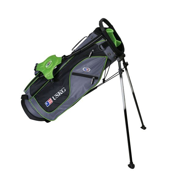 Picture of US Kids Junior UL57 Stand Bag WT-15u, 29 Inch, Grey/Green