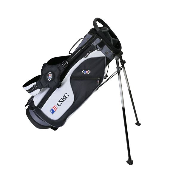 Picture of US Kids Junior UL57 Stand Bag WT-15u, 29 Inch, Black/White/Grey
