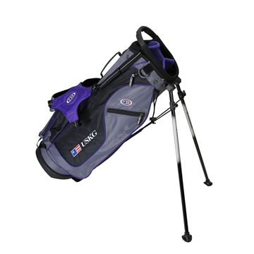 Picture of US Kids Junior UL54 Stand Bag WT-15u, 27.5 Inch, Grey/Purple