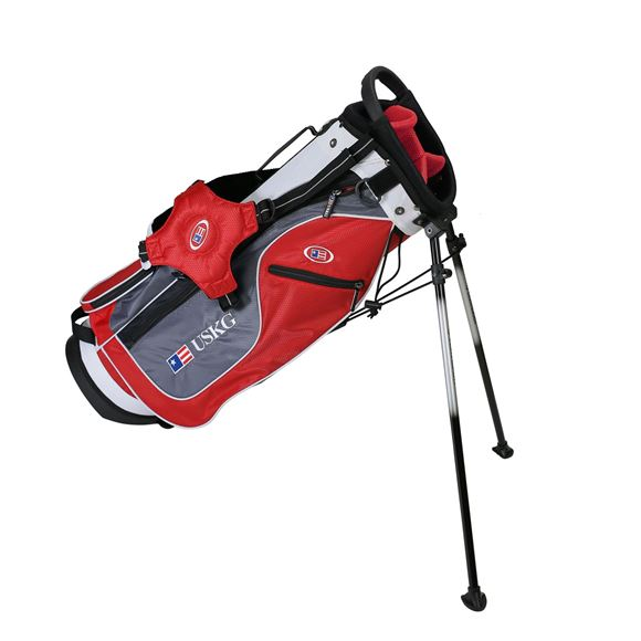 Picture of US Kids Junior UL54 Stand Bag WT-15u, 27.5 Inch, Red/Grey/White