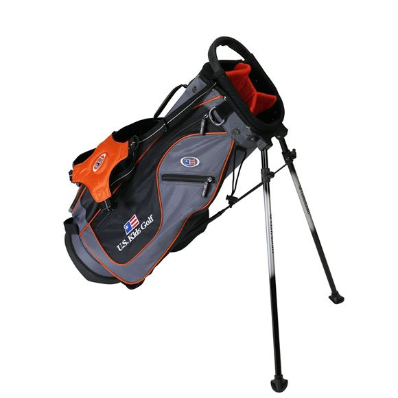 Picture of US Kids Junior UL51 Stand Bag WT-20u, 26 Inch, Grey/Orange