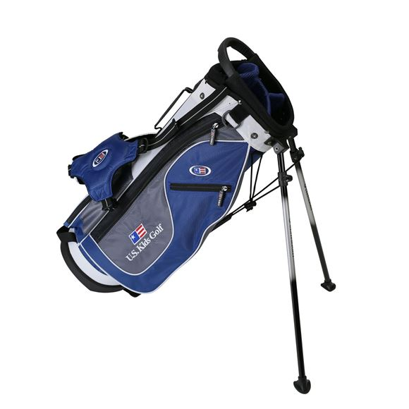 Picture of US Kids Junior UL51 Stand Bag WT-20u, 26 Inch, Blue/Grey/White