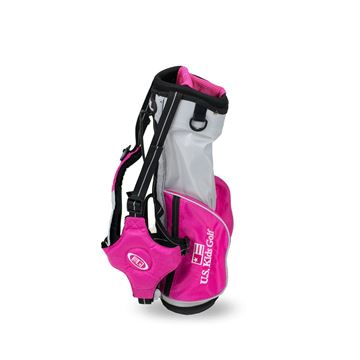 Picture of US Kids Junior UL39 Carry Bag WT-30u, 20 Inch, Silver/Pink Bag