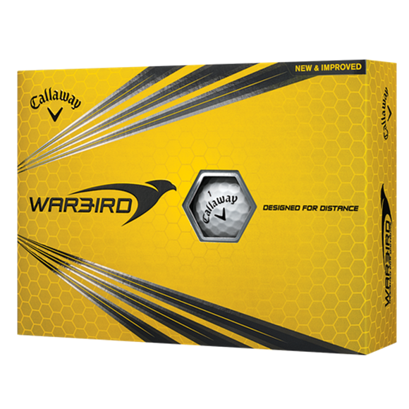 Picture of Callaway Warbird Golf Balls - White