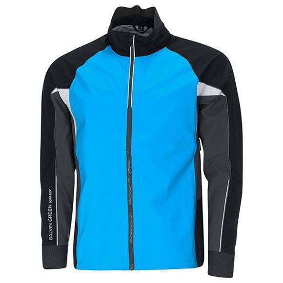 Picture of Galvin Green Mens Argon Waterproof Jacket - Deep Ocean
