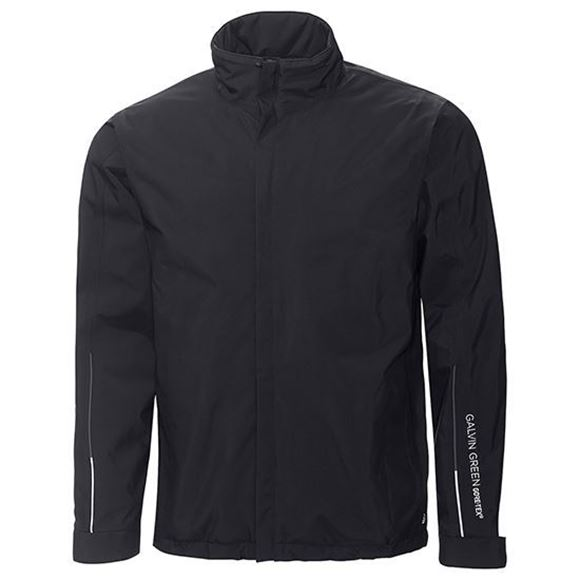 Picture of Galvin Green Mens Ash Waterproof Jacket - Black