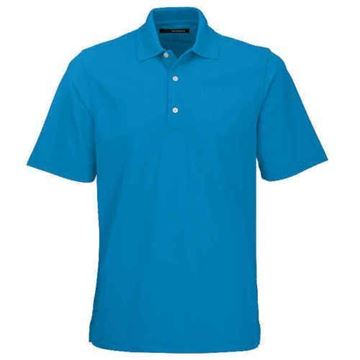 Picture of Greg Norman Golf Pro Series Polo Shirt - Aquamarine