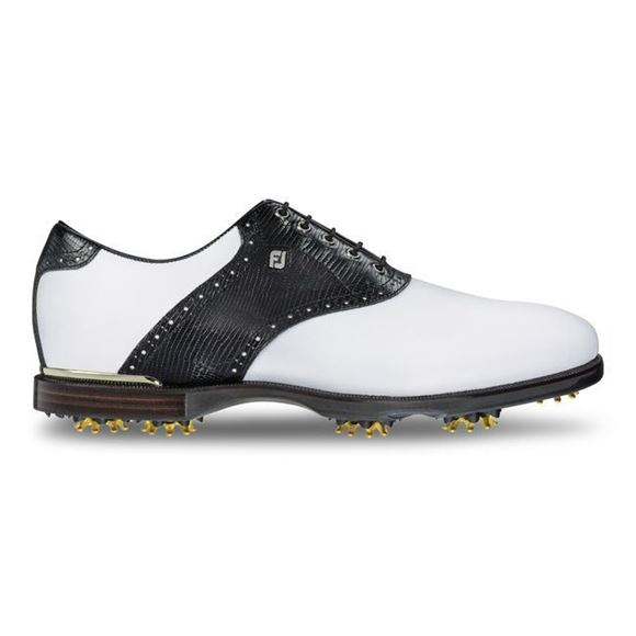 Picture of Footjoy Mens ICON Black Golf Shoes 52007