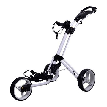 Picture of Powakaddy TwinLine 4 Push Trolley