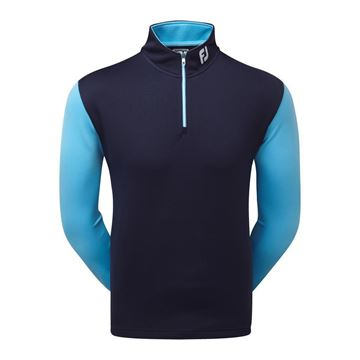 Picture of Footjoy Mens Double Layer Contrast ChillOut Pullover