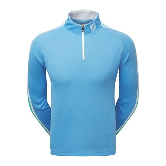 Picture of Footjoy Mens Athletic Fit Textured ChillOut Pullover