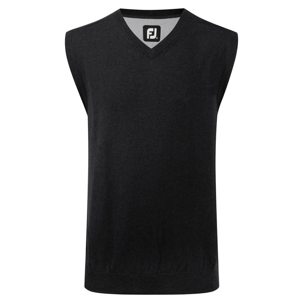 footjoy mens lambswool v neck slipover next day delivery
