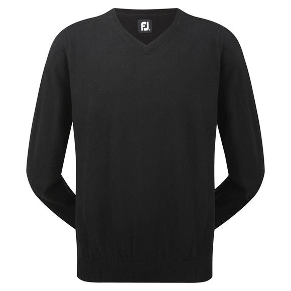 Picture of Footjoy Mens Lambswool V-Neck Pullover