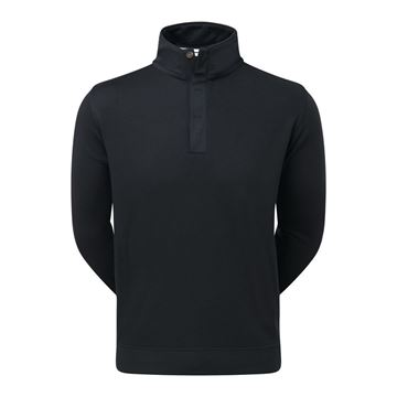 Picture of Footjoy Mens Spun Poly Buttoned Pullover - 92176