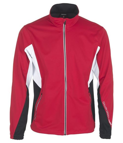 Picture of Galvin Green Mens Brian Windstopper Jacket - Red