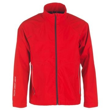 Picture of Galvin Green Mens Abbot Waterproof Jacket - Red