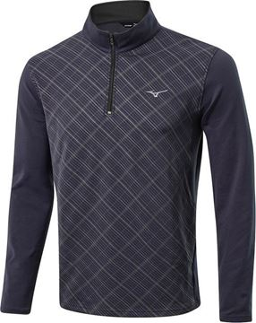 Picture of Mizuno Mens Breath Thermo 1/2 zip Pullover