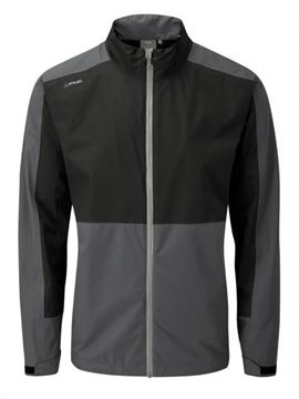 Picture of Ping Mens Anders Waterproof Jacket - Black/Grey