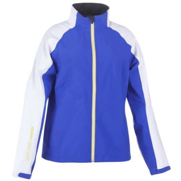 Picture of Galvin Green Ladies Agnes Waterproof Jacket - Blue/White
