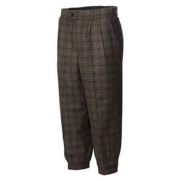 Picture of JRB Golf Plus Two Trousers - Green Check