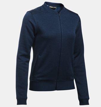 Picture of Under Armour Ladies UA Storm Sweater Fleece Full Zip Bomber