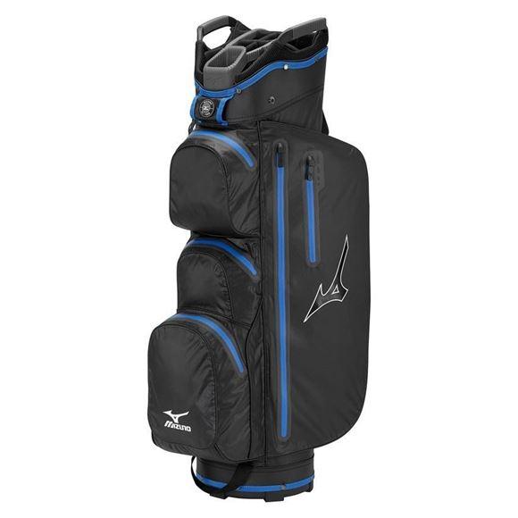 Picture of Mizuno Elite Cart Bag - Black/Blue
