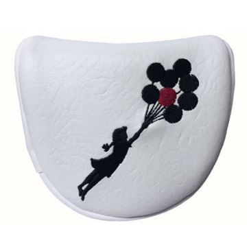 Picture of SRC Banksy Mallet Putter Cover - Balloon Girl