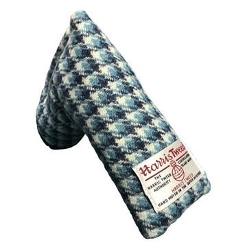 Picture of SRC Harris Tweed Putter Cover - Corn Flower