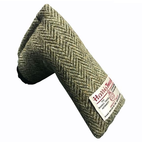 Picture of SRC Harris Tweed Putter Cover - Lady's Bedstraw