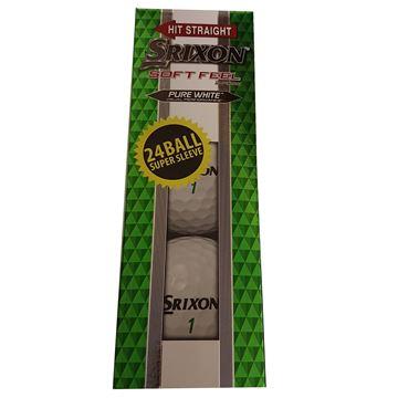 Picture of Srixon Soft Feel Golf Balls  - 24 Pack