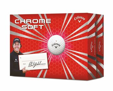 Picture of Callaway Chrome Soft Golf Balls - 2 Dozen Pack
