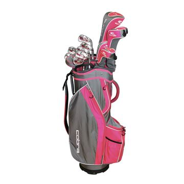 Picture of Cobra Ladies Fly-Z S Package Set / 12 Club Set with Cart Bag
