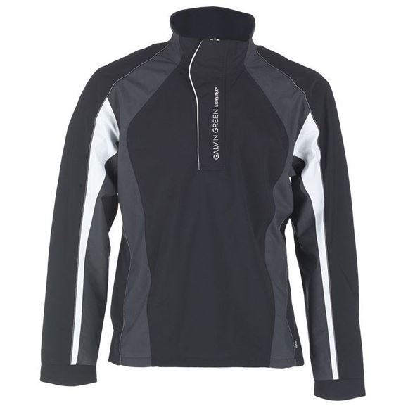 Picture of Galvin Green Mens Addison Waterproof Jacket - Black/Grey/White