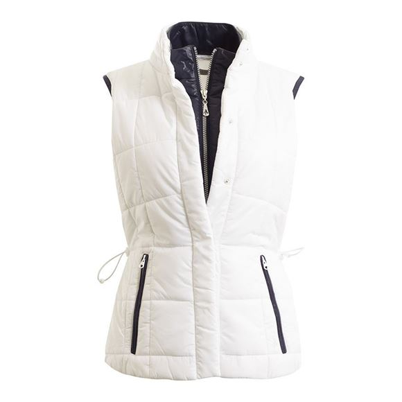 Picture of Green Lamb Ladies Gilet SG17635 - White