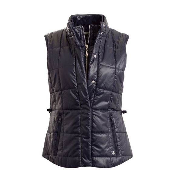 Picture of Green Lamb Ladies Gilet SG17635 - Navy