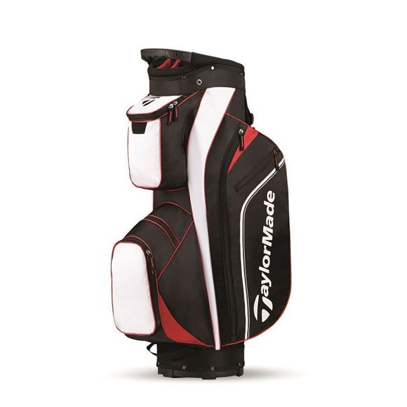 Picture of TaylorMade Pro Cart 4.0 Trolley Bag - Black/White/Red