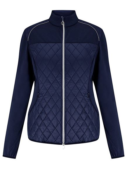 Picture of Callaway Ladies Mixed Media Quilted Jacket CGJF7025