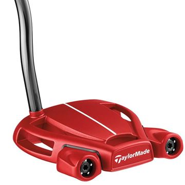 Picture of TaylorMade Spider Tour Double Bend Putter in Red