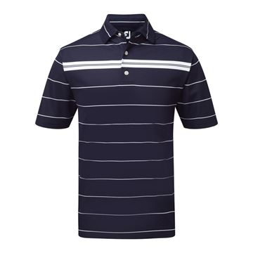 Picture of Footjoy Mens  Smooth Pique Chest Stripe 91960