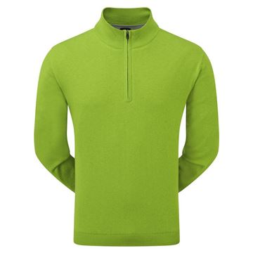 Picture of Footjoy Mens Lambswool Lined 1/2 Zip Pullover 95422