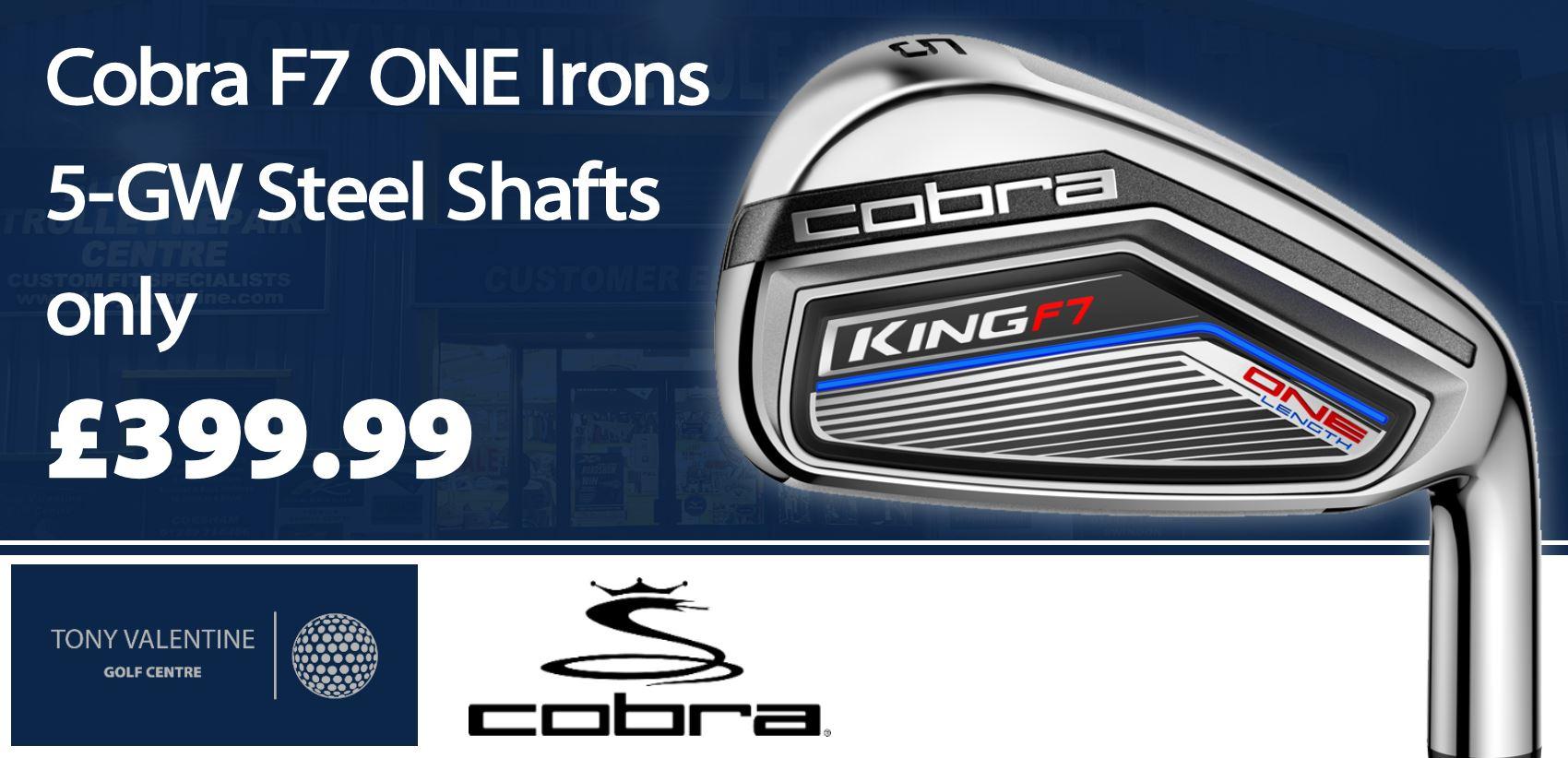 Cobra F7 Irons
