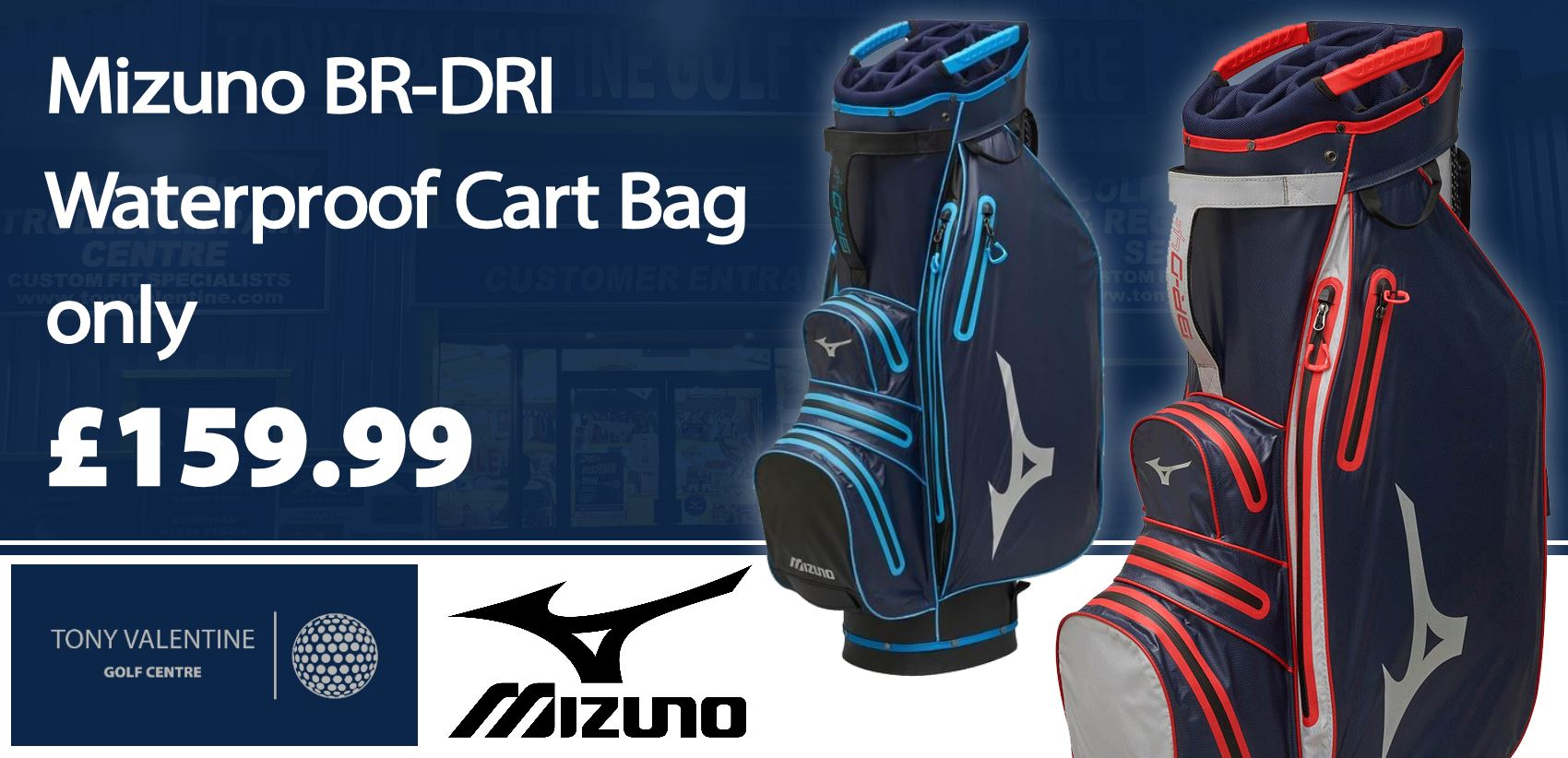 Mizuno Br-Dri Waterproof Cart Bag