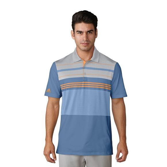 Picture of Adidas Mens Ultimate 365 Blocked Polo Shirt CF7983
